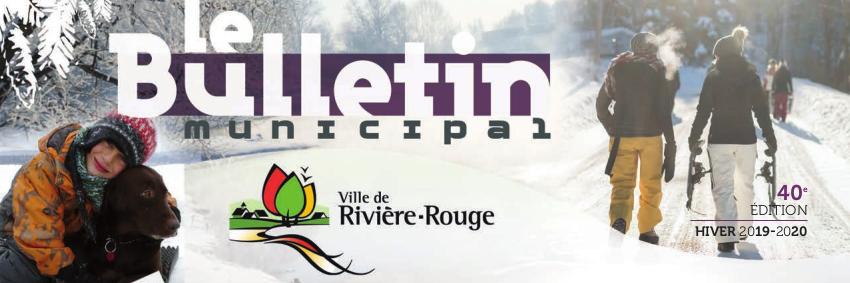 Bulletin municipal de la Ville de Rivière-Rouge - Hiver 2019-2020
