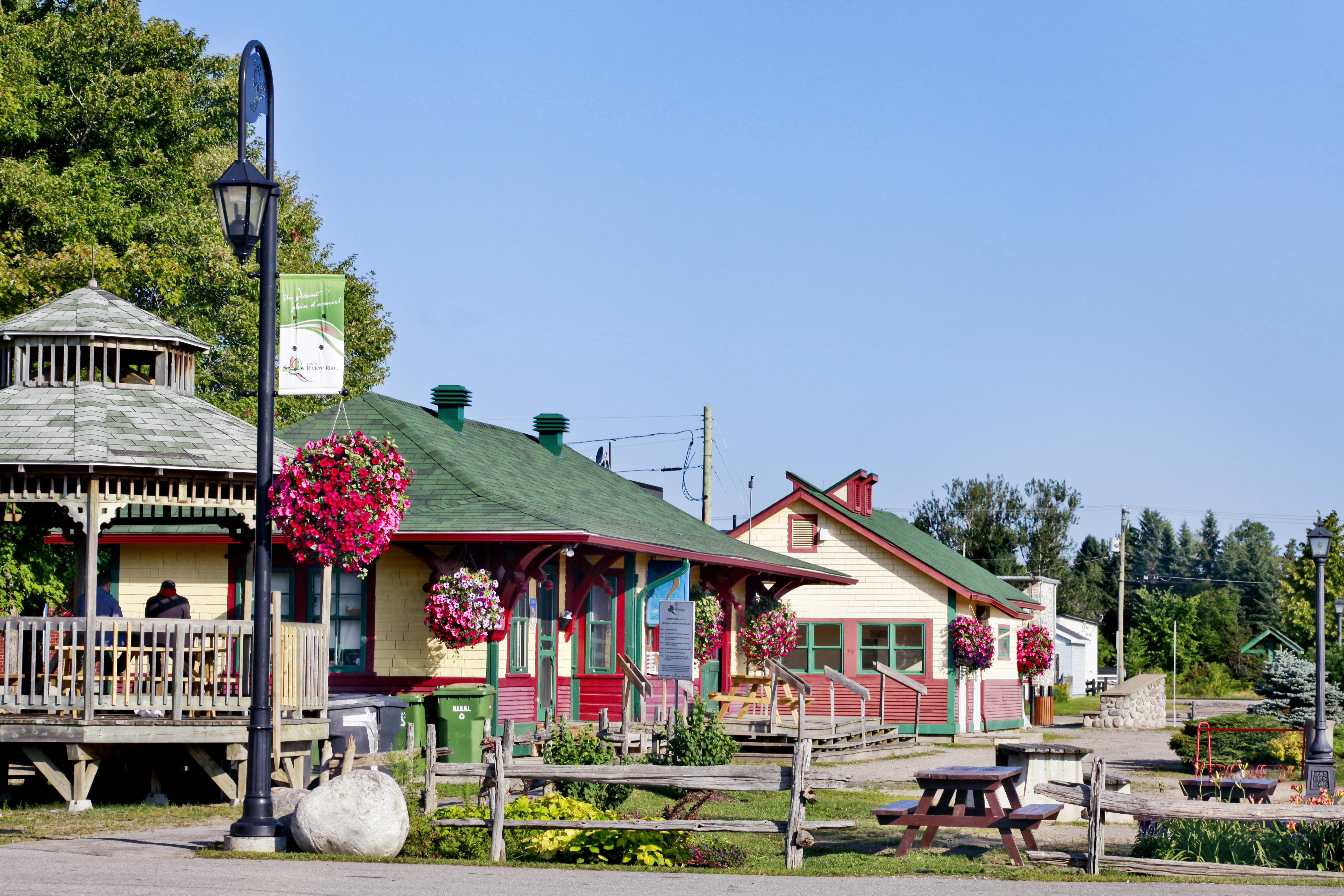 Centre d'exposition de la gare de Rivière-Rouge