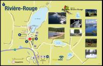 Carte des services offerts Village-relais Rivière-Rouge secteur Sainte-Véronique