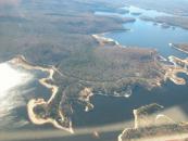 Photos aériennes du Réservoir Kiamika