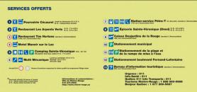 Liste des services offerts Village-relais Rivière-Rouge secteur Sainte-Véronique